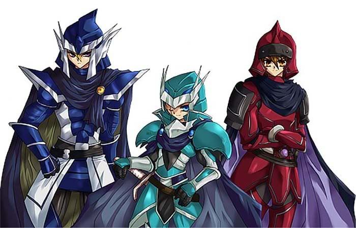 Critias, Timaeus, and Hermos the Legendary Knights | Yu-Gi ...