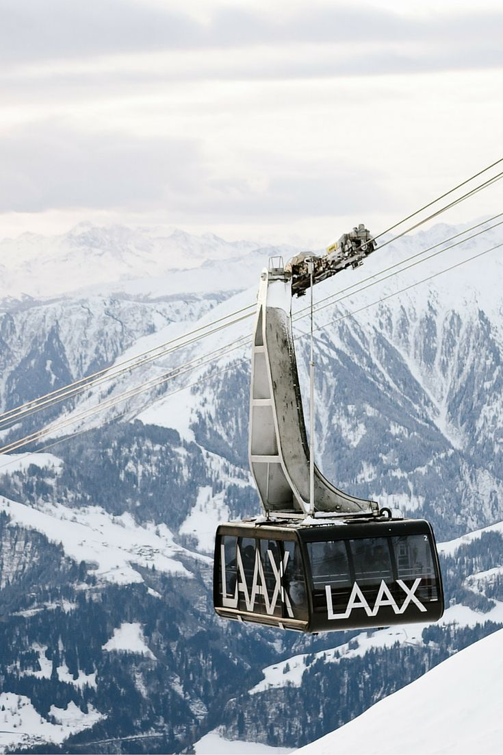 The amazing ski area of Laax in Graubunden, Switzerland. Check this link for more photos!