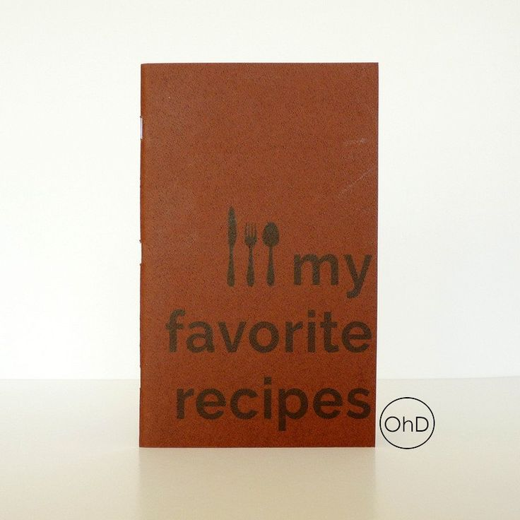 Recipe Journal - Booklet by OhDarlingCreations76 on Etsy #recipejournal #favoriterecipes #handmade
