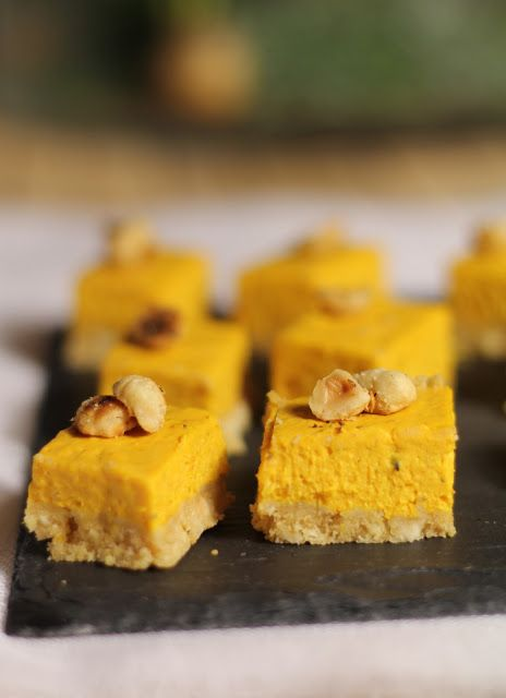 Cheesecake au potimarron et aux noisettes pour l'apéritif | On Dine chez Nanou