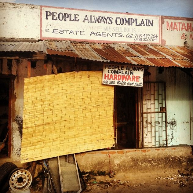 Best Hardware Store – 'People Always Complain'..
