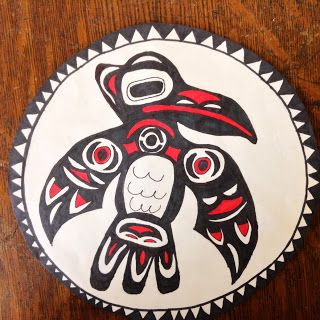 Aboriginal/Native American inspired art - grade 6, Ontario social studies link