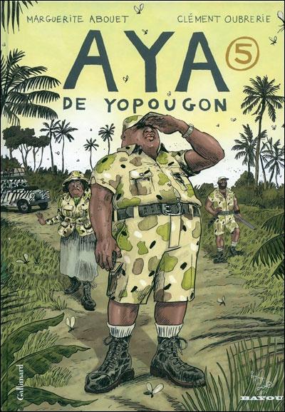 Aya de Yopougon,T5 // Clément Oubrerie, Marguerite Abouet // ISBN 2070628035 - EAN978-2070628032