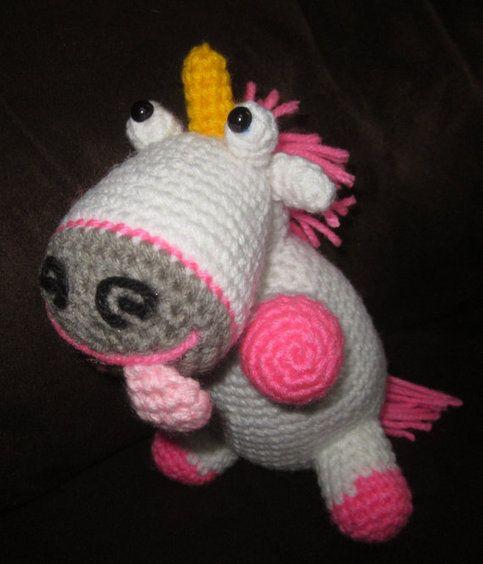Amigurumi Unicornio Gru : My fluffy unicorn amigurumi jnarts crochet