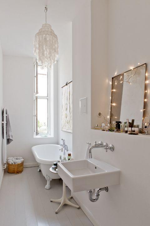 Un appartement minimaliste avec jardin à Berlin