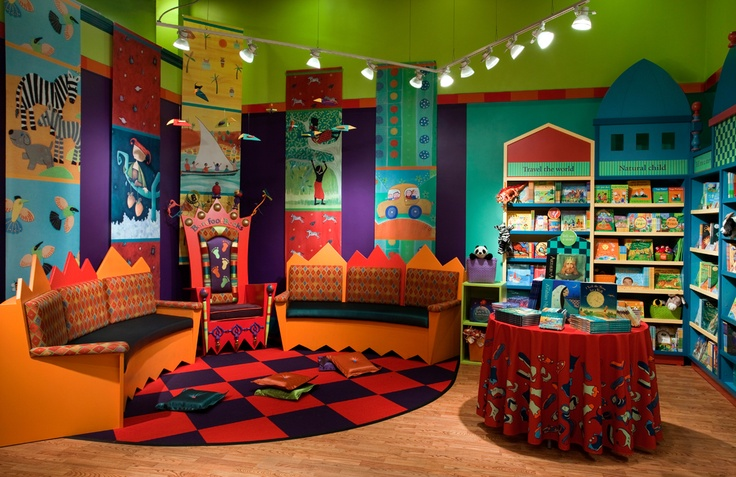 Who wouldn't want to read and be transported to far away places by Barefoot Books?! This is a truly magical children's bookstore. #BookStore #Retail