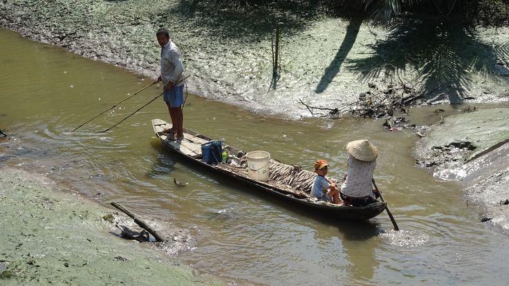 Fishermen, My Tho, Vietnam