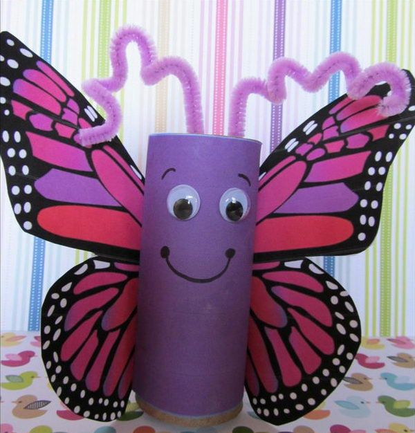 60 Homemade Animal Themed Toilet Paper Roll Crafts, http://hative.com/homemade-animal-toilet-paper-roll-crafts/,