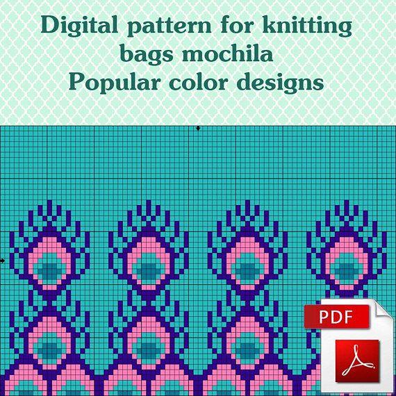 Wayuu mochila bags crochet mochila pattern Popular color
