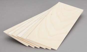 "Revell 887604 Birch Plywood 3mm 1/8x4x12 (6) by Revell. $4.95. Birch Plywood 3mmx4x12"""" (6). Save 45%!"