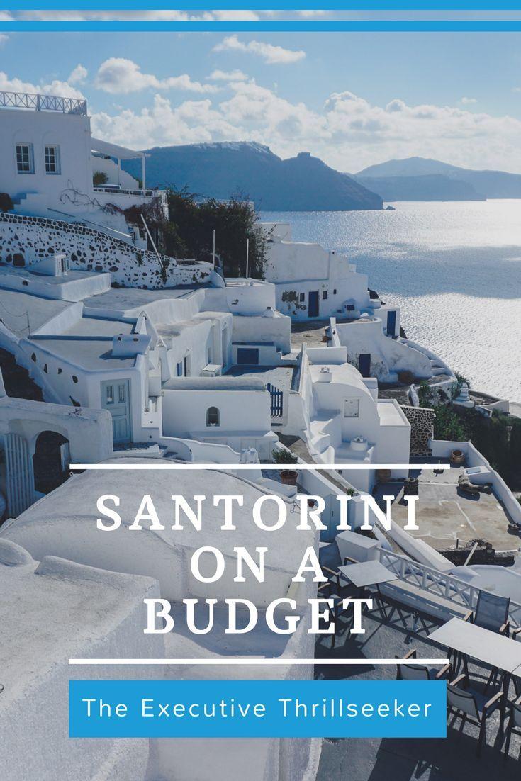 See Santorini properly on a budget | #Santorini #Greece #Greek #Greekislands #budget #visitgreece #islandlife #island #paradise #executivethrillseeker