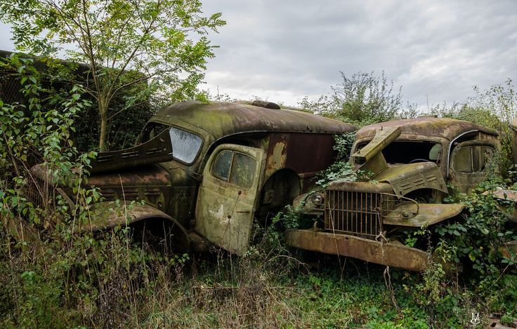 Abandoned Military Vehicles In Europe Military An And Of