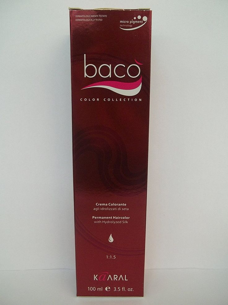 Baco Color Collection - Permanent Color Enriched with Hydrolyzed Silk - 3.2 Fl. Oz. Tubes - Shade Selection: 6.10 - Dark Ash Blonde ** Want additional info? Click on the image. #hairtreatment
