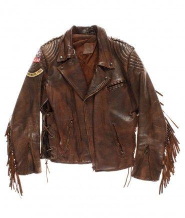 vintage Leather motorcycle jacket 60/70s