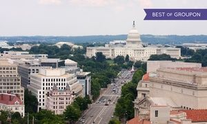 Groupon - Stay with Parking and WiFi at Sheraton Pentagon City Hotel in Arlington, VA. Dates into April.  in Arlington, VA. Groupon deal price: $76