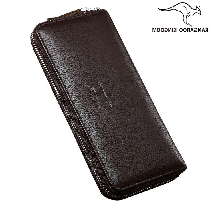 39.84$  Buy now - https://alitems.com/g/1e8d114494b01f4c715516525dc3e8/?i=5&ulp=https%3A%2F%2Fwww.aliexpress.com%2Fitem%2FKangaroo-Kingdom-Famous-Brand-Men-Wallets-Genuine-Leather-Wallet-Long-Male-Clutch-Purse%2F32721068240.html - Kangaroo Kingdom Famous Brand Men Wallets Genuine Leather Wallet Long Male Clutch Purse