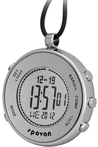 http://picxania.com/wp-content/uploads/2017/08/spovan-silver-digital-pocket-watches-hiking-altimeter-barometer-compass.jpg - http://picxania.com/spovan-silver-digital-pocket-watches-hiking-altimeter-barometer-compass/ - Spovan Silver Digital Pocket Watches Hiking Altimeter Barometer Compass -   Price:    Description: – 100% brand new and high quality. – Precise digital movement for accurate time keeping. – Daily water resistance (not for showering and swimmi