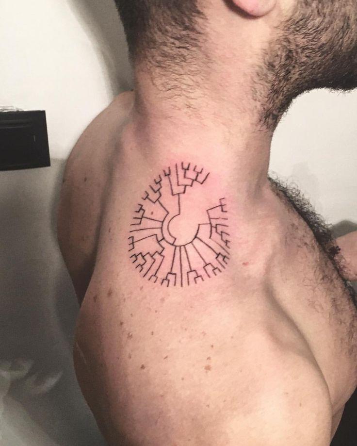evolution circle tattoo