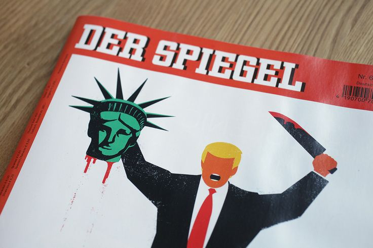 Anger Meets Art: How a Cuban Immigrant Dreamed Up Der Spiegels Shocking Trump Cover