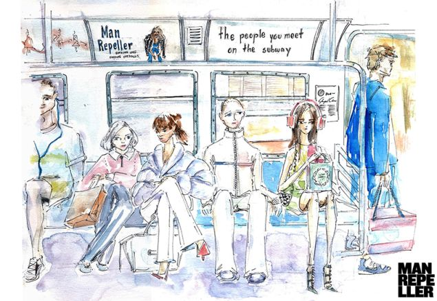 List the 5 people you'd meet on the NYC subway any given day. http://www.manrepeller.com/2015/06/people-you-meet-on-the-subway.html