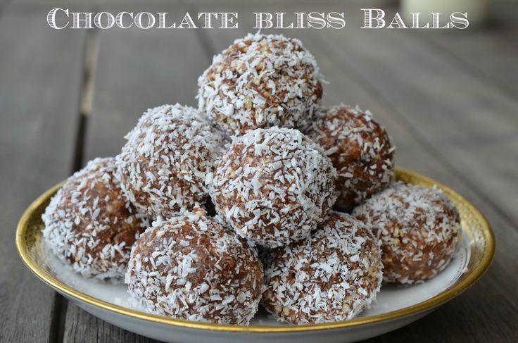 chocolate bliss balls cuisine Companion