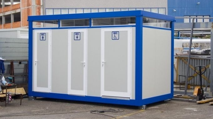 Sanitary - Toilet - WC containers EUROmodul
