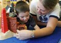 Clear Horizons uses DIR/Floortime as the foundation of our school program. Located in Orem, UT.