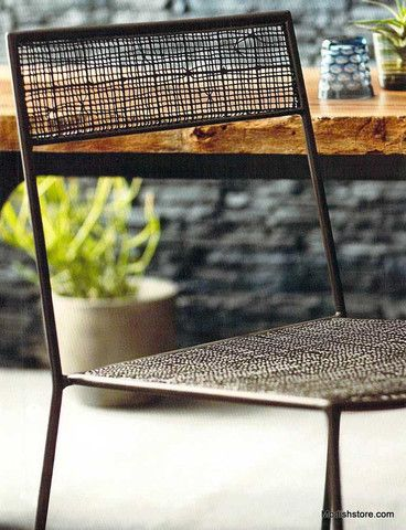 Roost Balboa Mesh Chair, Set2 outdoor/indoor