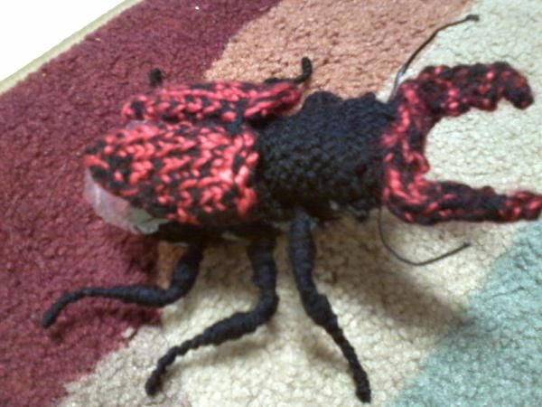 17 Best images about Crochet / knit bugs, insects, beetles ...