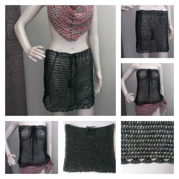 17 Best Images About Diy Crochet Skirts On Pinterest -2158