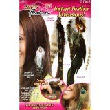 As Seen on Tv 3 Pack Snap-on Feathers Extensions - Case Pack of 20  List Price: $415.80 Discount: $390.80 Sale Price: $25.00
