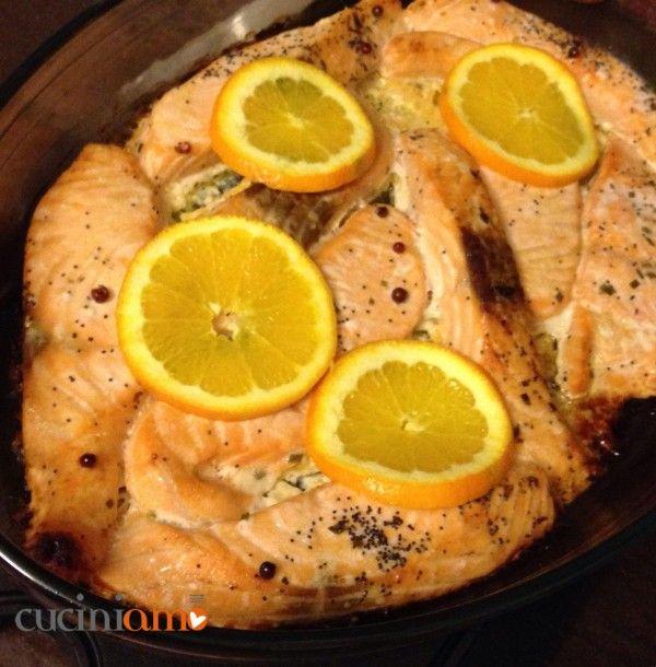 Salmone all'arancia | CuciniAmO