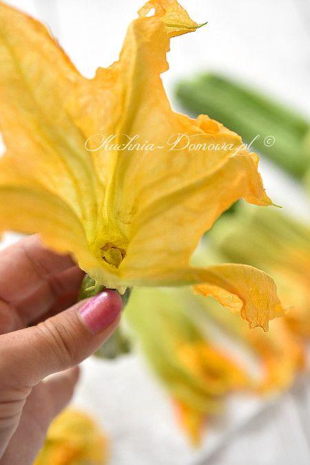 Jak przygotować kwiaty cukinii