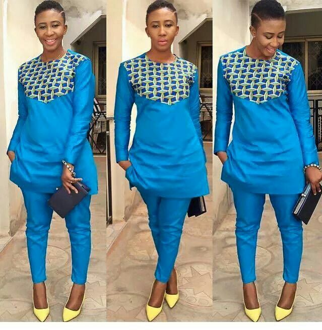 1297 Best Images About African Print 2-piece Outfit On