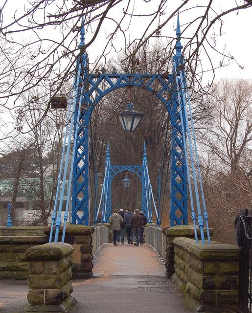 Bridge over weir, Leamington Spa