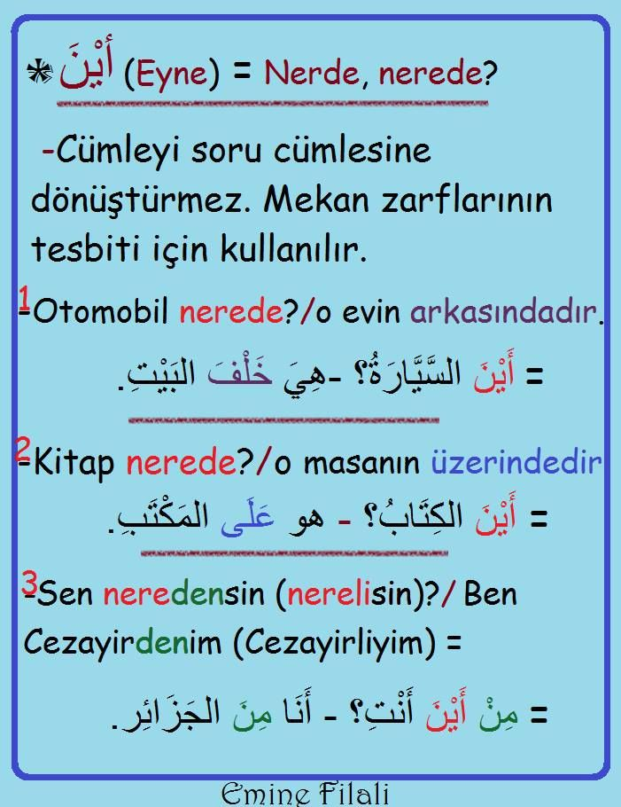 prepositions in arabic - Google'da Ara