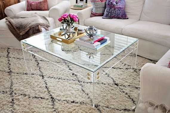17 best ideas about acrylic coffee tables on pinterest acrylic table lucite table and acrylic Clear coffee table