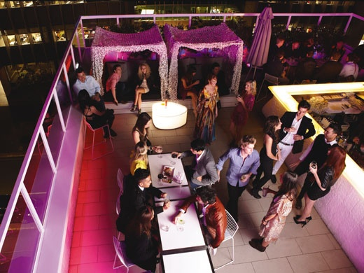 The rooftop bar at Limes Hotel, Fortitude Valley #Brisbane