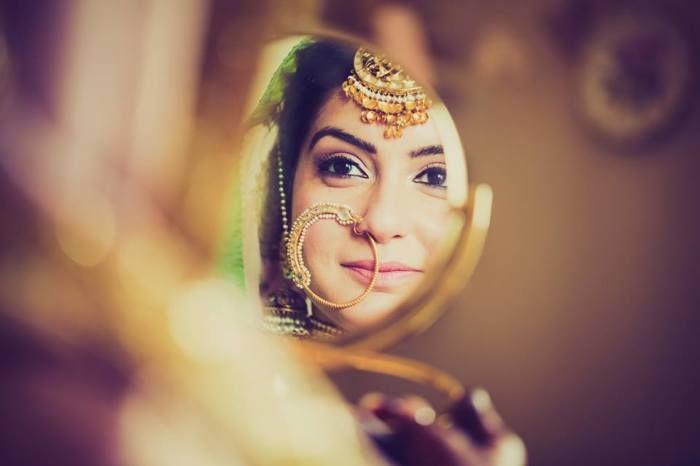 Bridal Nose Rings - WedMeGood #wedmegood #noserings
