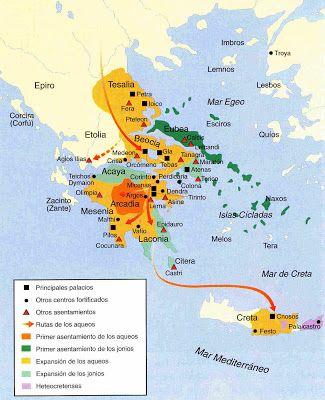 Mundo minoico y micénico. (Megapost) - REHA