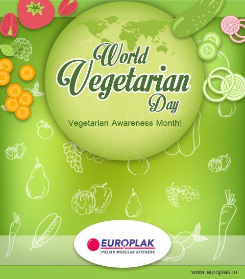 World Vegetarian Day... Fresh 'N Green! http://www.europlak.in/