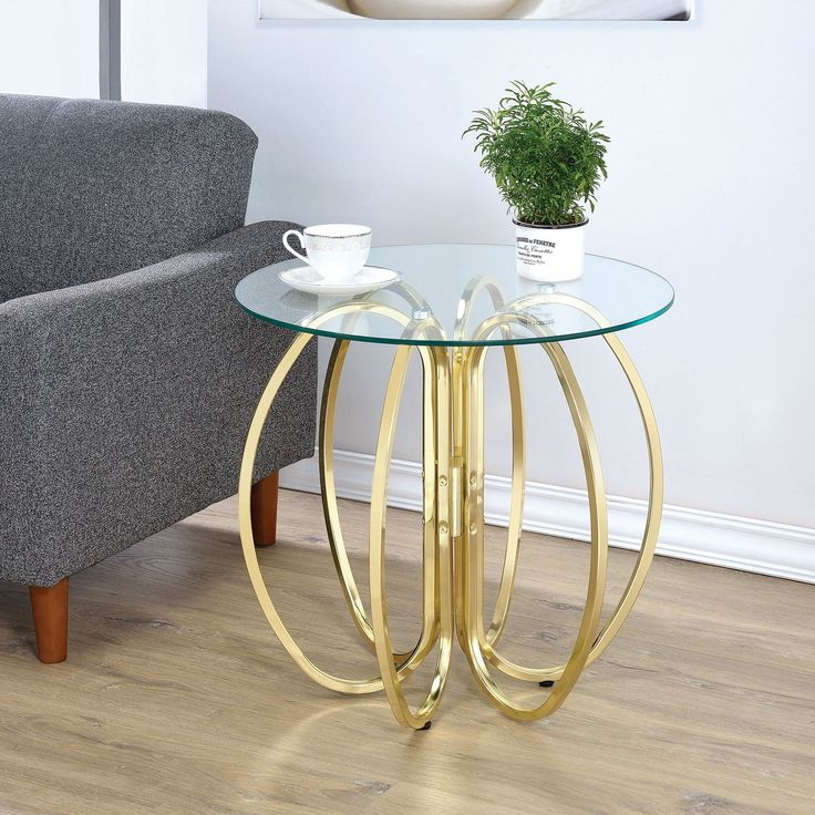 Coaster Furniture Interlocking Circle Accent Table | from hayneedle.com