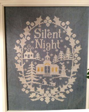 14 Best Images About Cross Stitch By All Through The Night