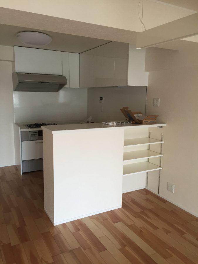 マンションリノベーション|キッチン移設作戦