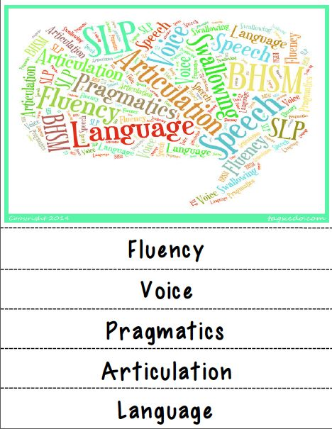 information on speech therapy
