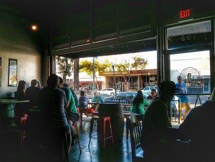Bar Interior.