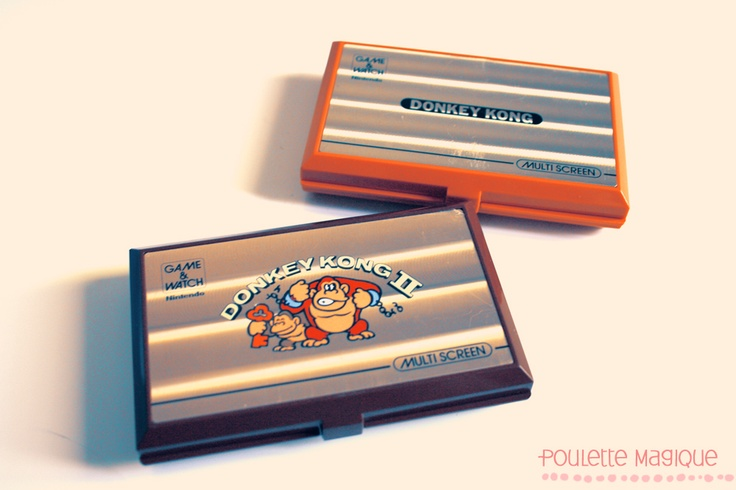 Donkey Kong Game & Watch LCD hand-helds. I had both editions. Together they kept me distracted for many hours.