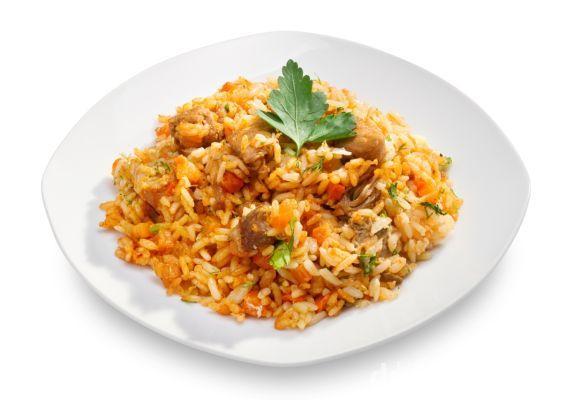 Sýte mäsové rizoto