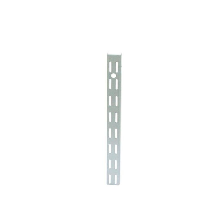 Style Selections 0.98-in W x 70.5-in H x 0.57-in D Steel Wall Mounted Shelving
