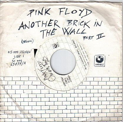"conelradstation: "" On this day in 1980, The South African government banned Pink Floyd's single Another Brick In The Wall, Pt. II after black children adopted the song as their anthem in protest against inferior education. """